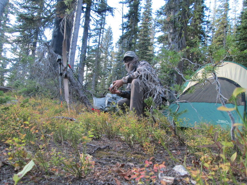 The commotion of setting up camp can and will call in Elk!